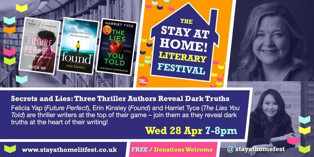 Secrets and Lies: Three Thriller Authors Reveal Dark Truths