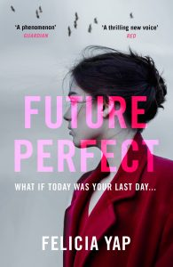 UK Cover of Future Perfect